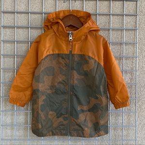 Toddler Kids Water Resistant Winter Jacket Camo